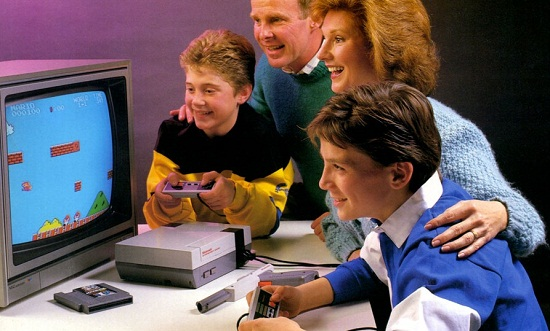 Retro NES Ad