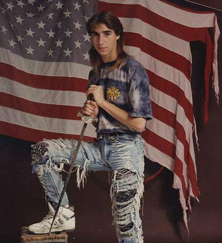 american flag glamour